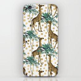 Giraffe Safari iPhone Skin