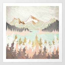 Winter Bay Art Print