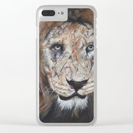 Lion of Judah Clear iPhone Case