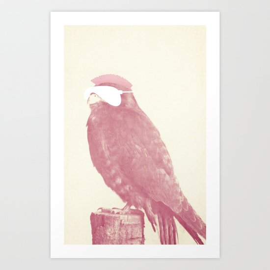 The Owl that calls upon the Night Art Print
