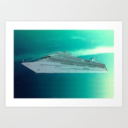 The Ship Art Print