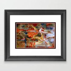 Mechancial Nature Framed Art Print
