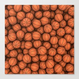 Basketballs Canvas Print