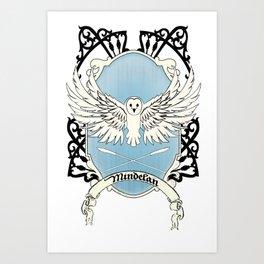 Mindelan Crest Art Print