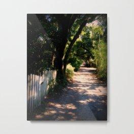 Ocracoke Island Path Metal Print