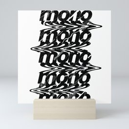 RM mono. playlist Mini Art Print