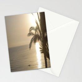 Tunisian African Beach Sunrise Stationery Cards
