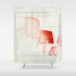 Ohara Koson - Gold fish Shower Curtain