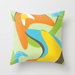 Boomerama Throw Pillow