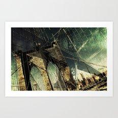 Brooklyn Bridge  Art Print