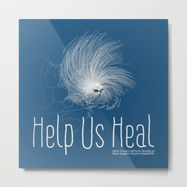 Help Us Heal - Hurricane Sandy Relief Metal Print