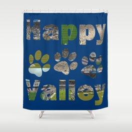 Happy Valley Nights Shower Curtain