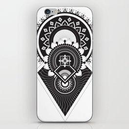 Aztec & Art Deco Fusion Mandala iPhone Skin