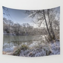 Sunrise across the Pond Wall Tapestry