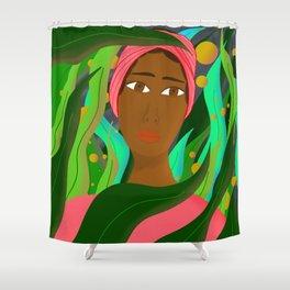 The Gardner Shower Curtain