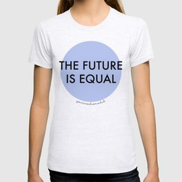 The Future is Equal - Blue T-shirt