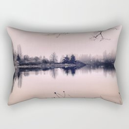 Rose Colored Glasses Rectangular Pillow