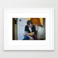 thanksgiving Framed Art Prints featuring Thanksgiving by Elizabeth Nowicki