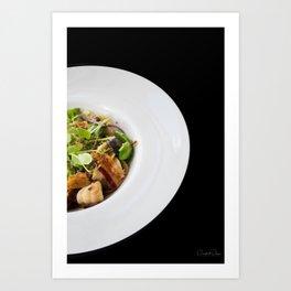 The Art of Food - Bacon Salad 2 Art Print