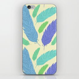 Patterned Feather Pattern iPhone Skin