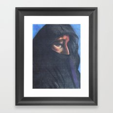 Moroccan Woman Framed Art Print