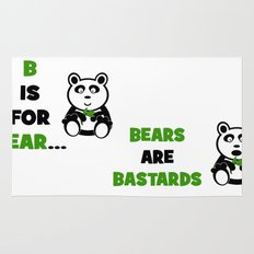 B is For Bear Rug