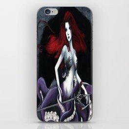 octopus girl iPhone Skin