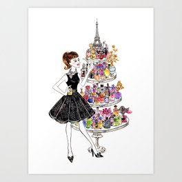 Perfume lover Art Print