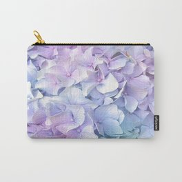 Soft Pastel Hydrangea Carry-All Pouch