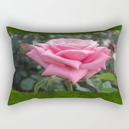Pink Roses in Anzures 6 Blank P1F0 Rectangular Pillow