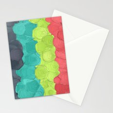 Paper Flowers In Bloom #2 Stationery Cards