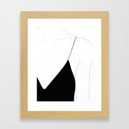 collarbone Framed Art Print