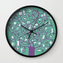 Mesh - tree Wall Clock