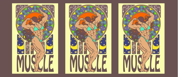 Beauty of Muscles No.1 Coffee Mug