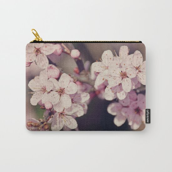 Rose Cherry Blossom Carry-All Pouch