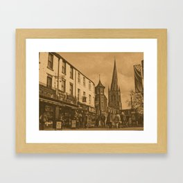 Chesterfield Crooked Spire Framed Art Print