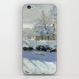 The Magpie by Claude Monet iPhone Skin