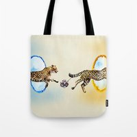 portal Tote Bags featuring Portal by Anna Shell