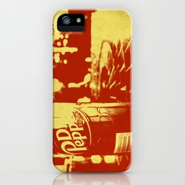 Pop Dr. Pepper iPhone Case