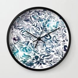 Brunkos first art Wall Clock
