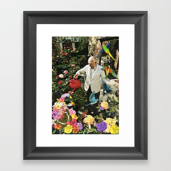 WATERING CAN Framed Art Print