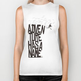 Adventure Has A Name Biker Tank