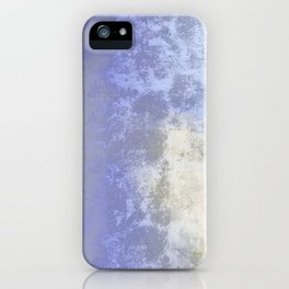 Salted earth abstract- mineral instruction iPhone Case
