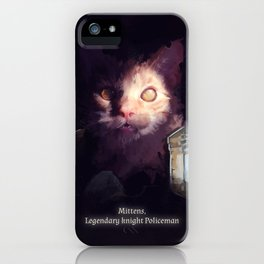 Mittens iPhone Case