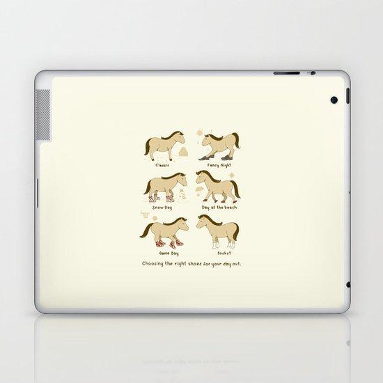 Horse Shoes Laptop & iPad Skin