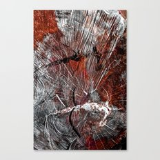 RED ARCHETYPAL STRUCTURES Canvas Print