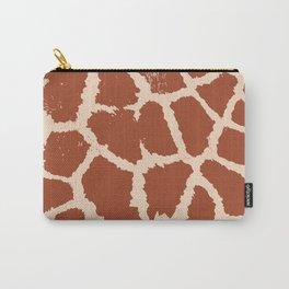 Giraffe pattern Carry-All Pouch