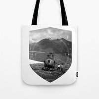 arizona Tote Bags featuring Arizona by WeLoveHumans