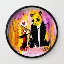 Borther from another mother Wall Clock