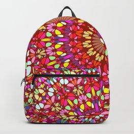 Happy Indian Summer Mandala Backpack